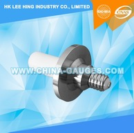IEC 60061-3: 7006-30-2 Plug Gauge for E14 Lampholder for Testing Contact Making